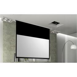 Ecran de projection encastrable misterprojo - Ecran de projection encastrable plafond ...