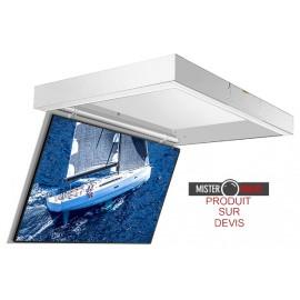 Support moniteur plafond électrique invisible - Gamme GPS-CP