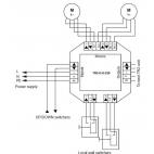 Émetteur et récepteur Trigger 230V programmable - Trigger 230V RF