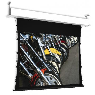 Ecran de Projection Motorisé Tensionné et Encastré - GP Screen - Giotto Tensionné - 160cm à 400cm - Toile au choix