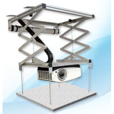 Ascenseur pour Vidéoprojecteur - GP Screen - VP200 - Descente jusqu'à 196cm - Poids max supporté 15kg