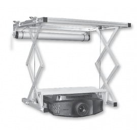 Ascenseur pour Vidéoprojecteur - GP Screen - VPH40HC - Descente jusqu'à 54cm - Poids max supporté 25kg
