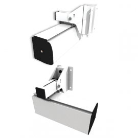 Support pour Plafond Incliné - GP Screen - Pour Carters d'Ecrans Compatibles et Ascenseur d'Ecran