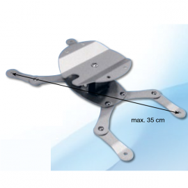 Support Plafond Universel - GP Screen - Hauteur Fixe 7cm - Poids Max Supporté 15kg