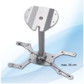 Support Plafond Universel - GP Screen - Hauteur Fixe 31cm - Poids Max Supporté 15kg
