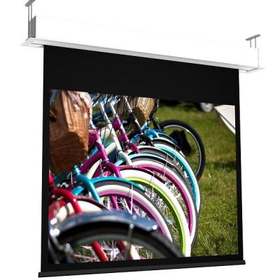 Ecran de Projection Motorisé et Encastré - GP Screen - Giotto Home Cinéma - 160cm à 450cm - Toile au choix