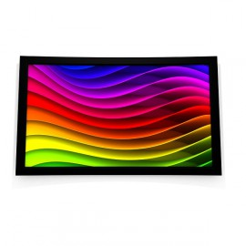 ecran de projection cadre sur pieds misterprojo. Black Bedroom Furniture Sets. Home Design Ideas