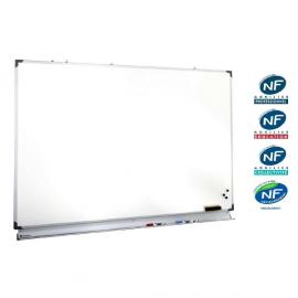 Tableau Blanc Emaillé - GP Screen - Dimensions au choix - Blanc ou Blanc Mat