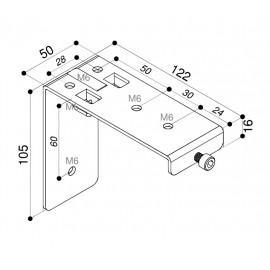 Jeux d'équerre de fixation pour écran - Gamme compact