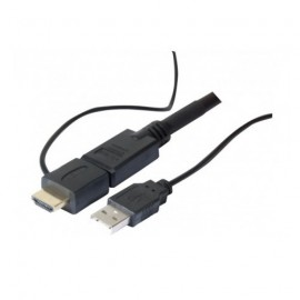 Cordon HDMI Amplifié - GP Screen - 10 mètres - Haute Vitesse - Ethernet - Chipset