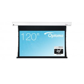 Ecran de Projection Electrique Tensionné - Optoma - DE-9120ETT - Format 16/9 - 265x149cm
