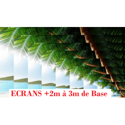 Ecrans de Projection de +2m à 3m de Base