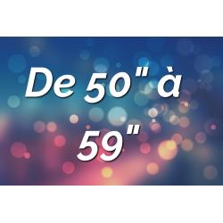 """Ecrans Tactiles de 50"""" à 59"""""""