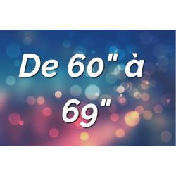 """Ecrans Tactiles de 60"""" à 69"""""""