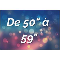 """Ecrans Tactiles par Tailles (de 50"""" à 59"""")"""