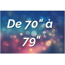 """Ecrans par Tailles (de 70"""" à 79"""")"""