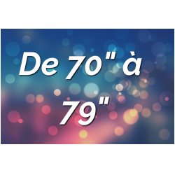 """Ecrans Tactiles par Tailles (de 70"""" à 79"""")"""