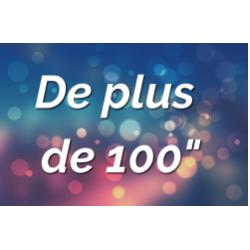 """Ecrans par Tailles (+ de 100"""")"""
