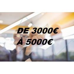 Ecrans Tactiles par Budget (de 3000€ à 5000€)