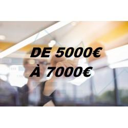 Ecrans Tactiles par Budget (de 5000€ à 7000€)