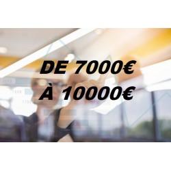 Ecrans par Budget (de 7000€ à 10000€)