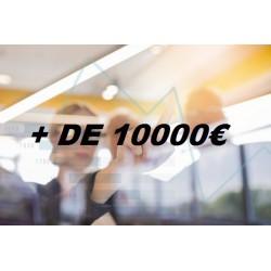 Ecrans par Budget (+ de 10000€)